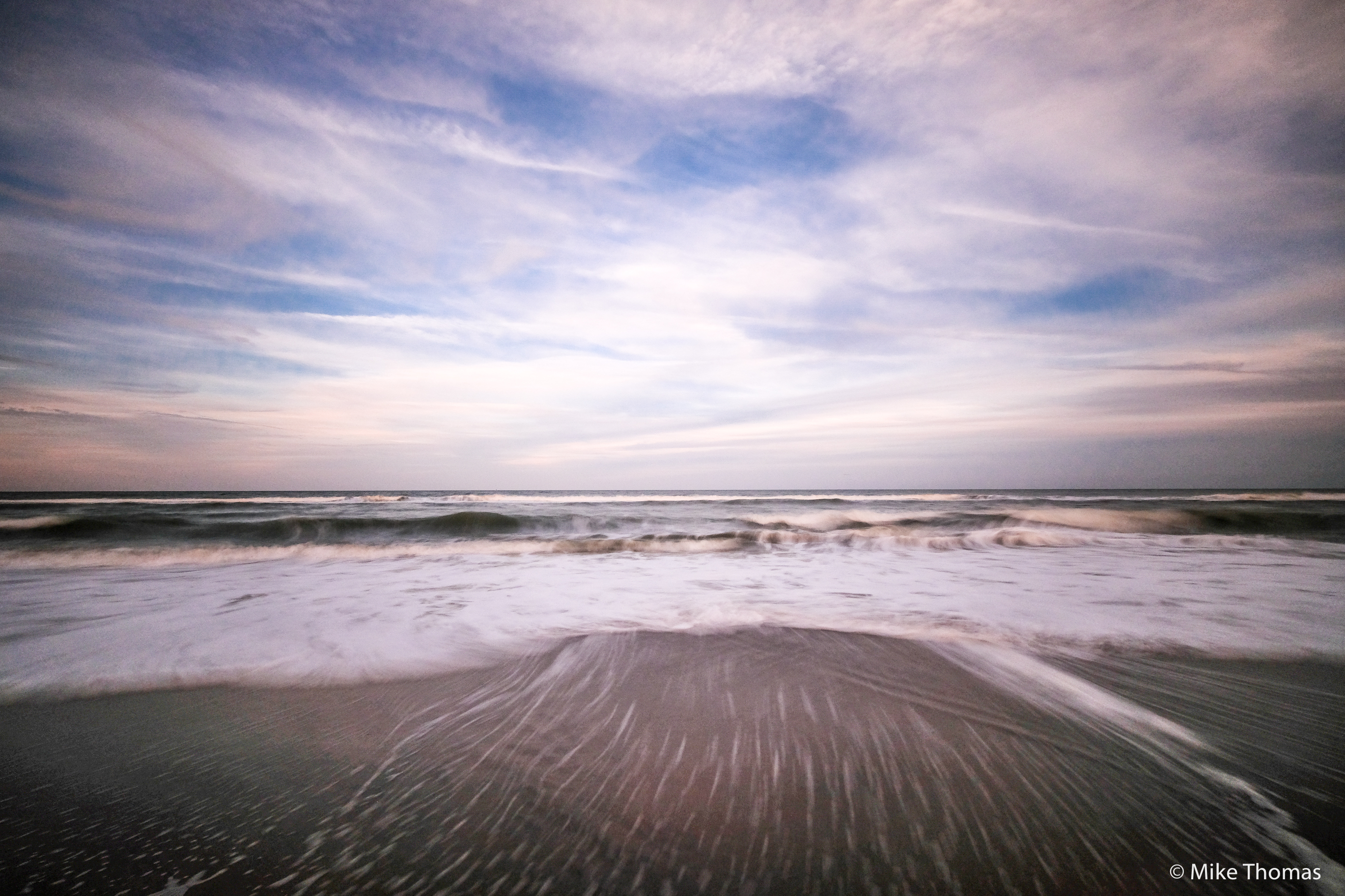 florida, beaches, melbourne beach florida, long exposure shot, nd filter, neutral density filter, ocean