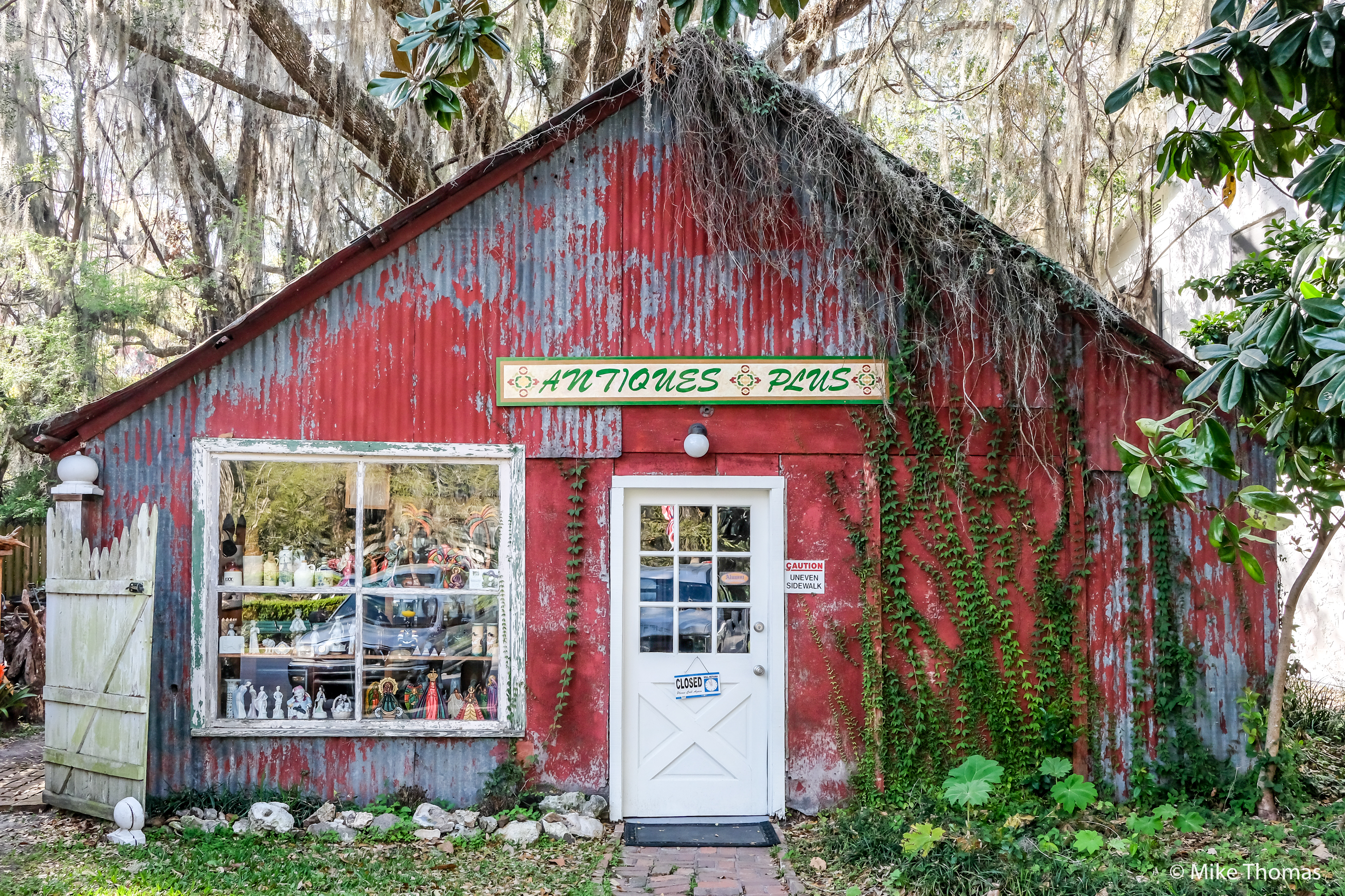 florida, micanopy, gainesville, backroads, antiques, antique store