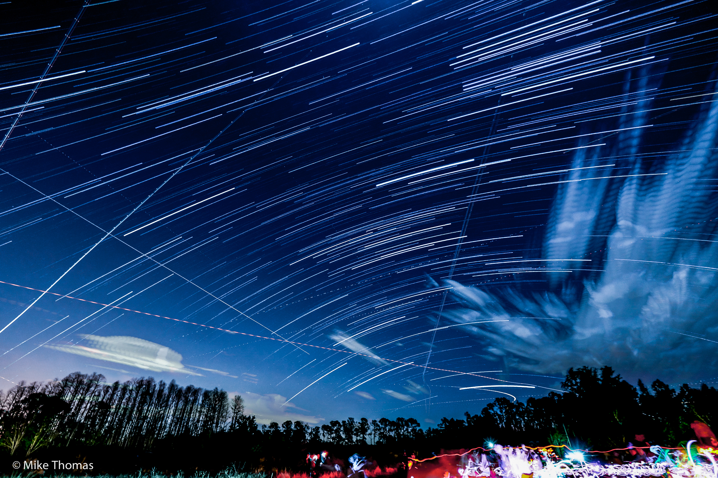 star trails, astronomy, sky, night sky, lake louisa state park, florida, disney